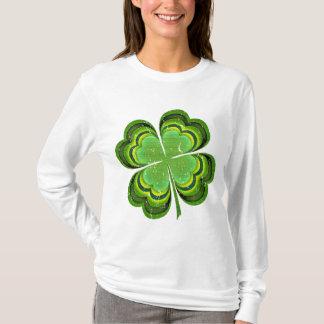 Camiseta Trevo afortunado do Dia de São Patrício