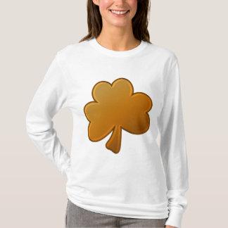 Camiseta Trevo alaranjado
