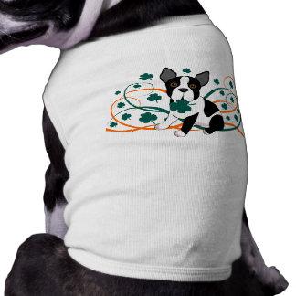 Camiseta Trevo Boston Terrier
