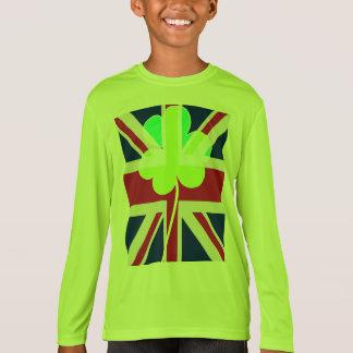 Camiseta Trevo britânico irlandês St Patrick Reino Unido do