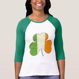 Camiseta Trevo da bandeira de Ireland