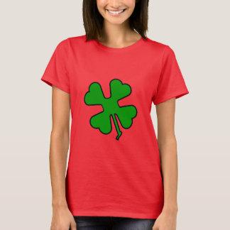 Camiseta Trevo de quatro folhas (afortunado)