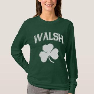 Camiseta Trevo do irlandês de Walsh