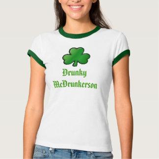 Camiseta trevo, Drunky McDrunkerson