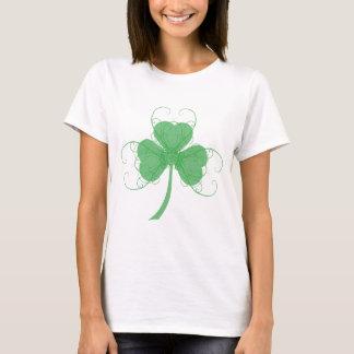 Camiseta Trevo elegante liso