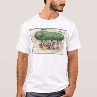 Camiseta Trevo original do vintage do dia de Patrick de
