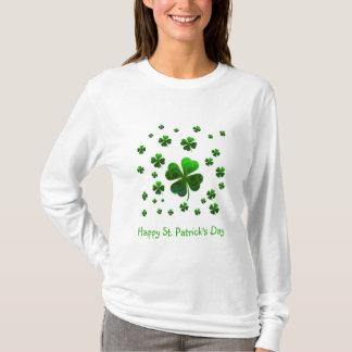 Camiseta Trevos afortunados verdes