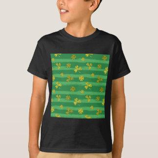 Camiseta trevos do ouro dos patricks da rua