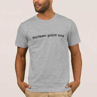 Camiseta treze pontos um