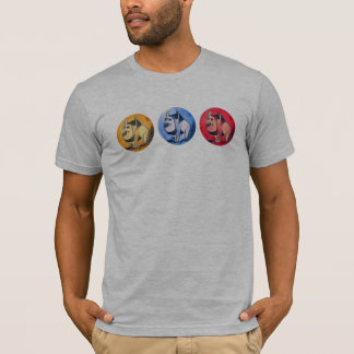 Camiseta Tri gráfico original T de Buf