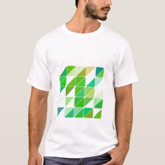 Camiseta Triângulos verdes