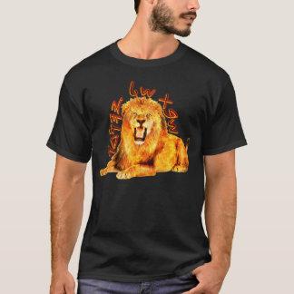 Camiseta Tribo de leão impetuoso de Judah