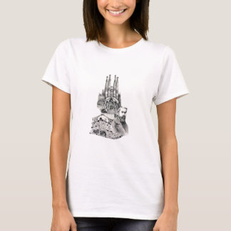 Camiseta Tributo a Gaudi.
