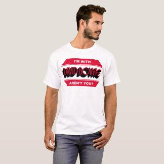 Camiseta Tributo ao duque branco fino