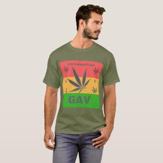 Camiseta Tributo de Jamaica pelo #GrindAndVape