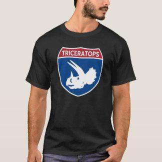 Camiseta Triceratops de um estado a outro
