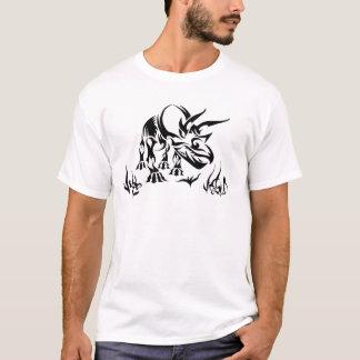 Camiseta Triceratops pela barraca fóssil