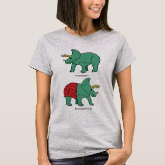 Camiseta Triceratops & Tricerabottoms
