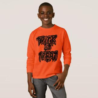 Camiseta trickXtreat o Dia das Bruxas