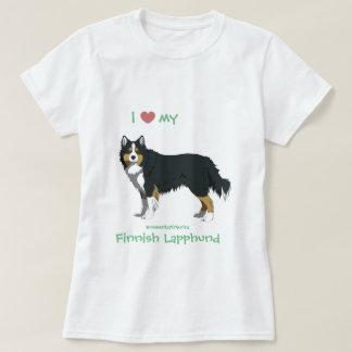 Camiseta tricolor finlandês Lapphund shirt - lapinkoira
