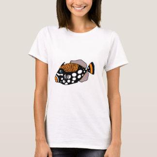 Camiseta Triggerfish do palhaço