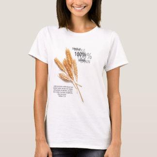 Camiseta Trigo inteiro de 100%