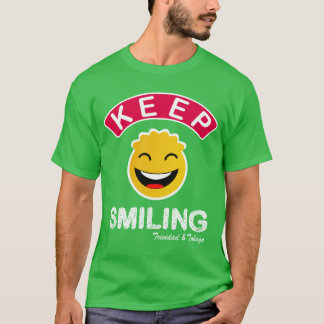 Camiseta Trinidad and Tobago mantêm o smiley de sorriso