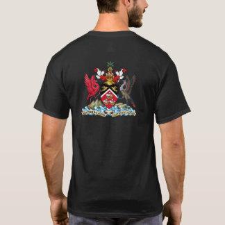 Camiseta Trinidad & bandeira e brasão de Tobago