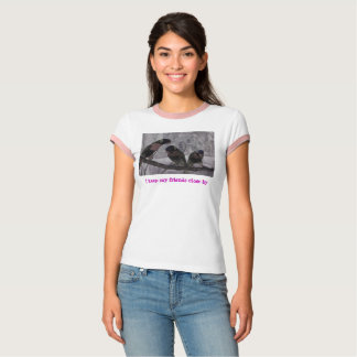 Camiseta Trio amigável de Lorikeet