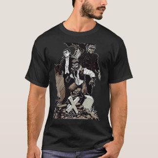 Camiseta Trio clássico do horror