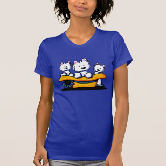 Camiseta Trio de domingo Westie