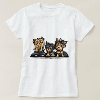 Camiseta Trio de Yorkie