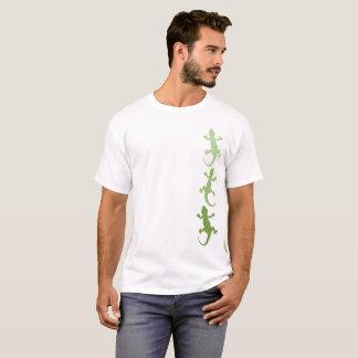 Camiseta Trio verde do geco de Ombre