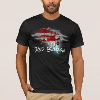 Camiseta Triplane do Fokker do Baron vermelho
