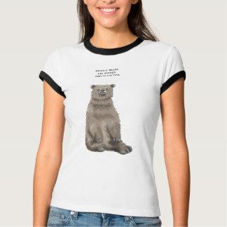 Camiseta trivialidade do urso de urso