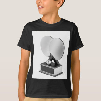 Camiseta Troféu de prata do ténis de mesa