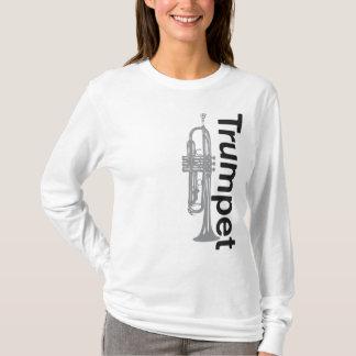 Camiseta Trombeta Hoody das senhoras (cabido)