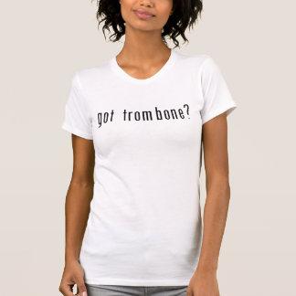 Camiseta trombone obtido