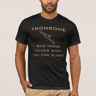 Camiseta Trombone:  Quem precisa válvulas? T-shirt