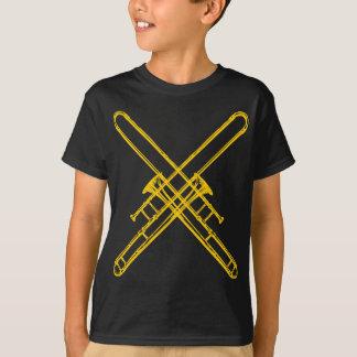"Camiseta Trombones ""de bronze"" cruzados"