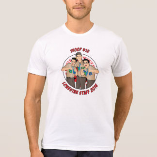 Camiseta Tropa 412 dos funcionarios de Lonestar