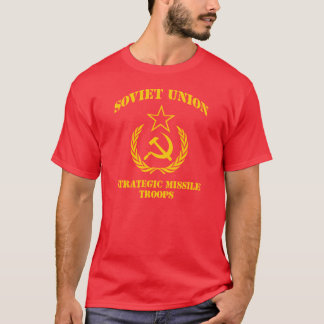 Camiseta Tropas estratégicas do míssil de União Soviética
