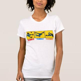 Camiseta Tropeço, queda, t-shirt do Grumble