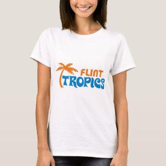 Camiseta Trópicos do sílex