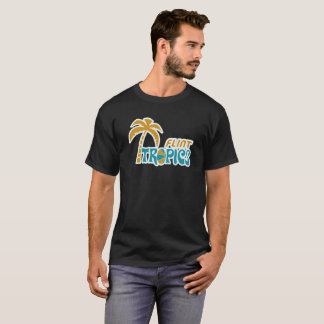 Camiseta Trópicos do sílex retros