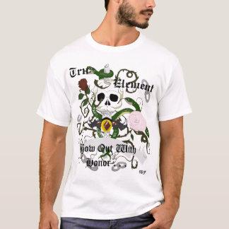 Camiseta Tru, elemento - curve para fora com honra
