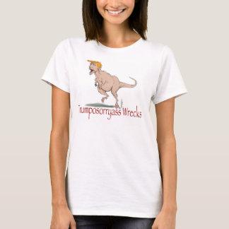 Camiseta Trumposorryass destrói t-shirt