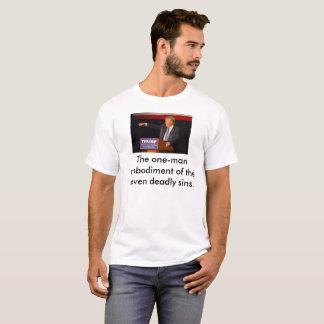 Camiseta Trunfo: A incorporação individual 7 pecados