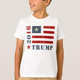 Camiseta Trunfo da bandeira do Grunge