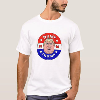 Camiseta Trunfo da descarga, anti t-shirt de Donald Trump